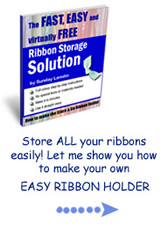 Easy Ribbon Storage-click here for more information